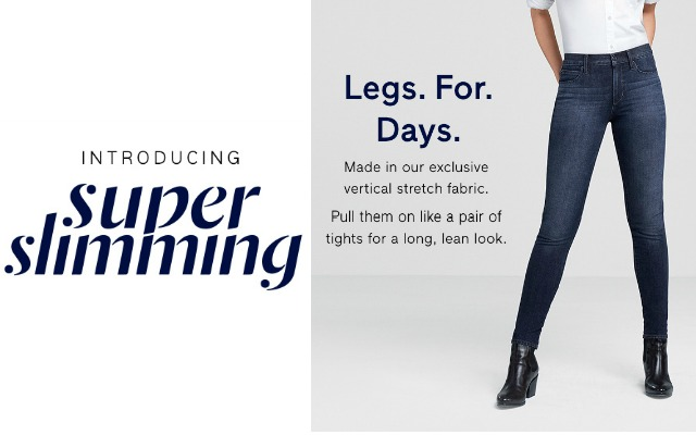 alt=super slimming jean