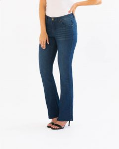 Measure and made boot cut jeans
