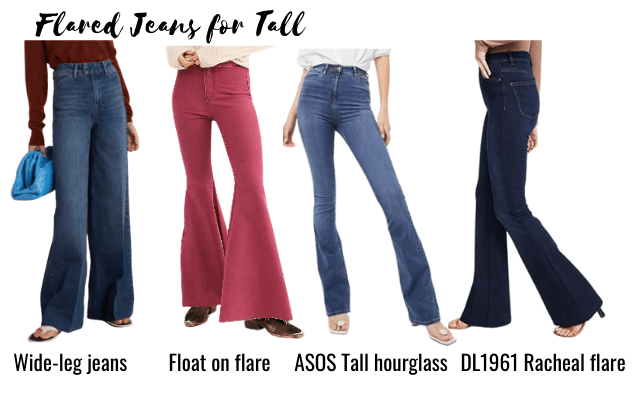 flare jeans for tall