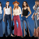 HOW TO WEAR FLARE JEANS FOR ALL BODY SHAPES