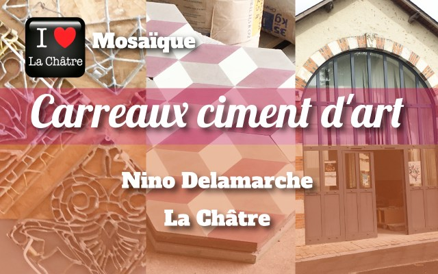 Nino Delamarche, Carreaux ciment d'art
