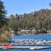 Lake Arrowhead in the summer