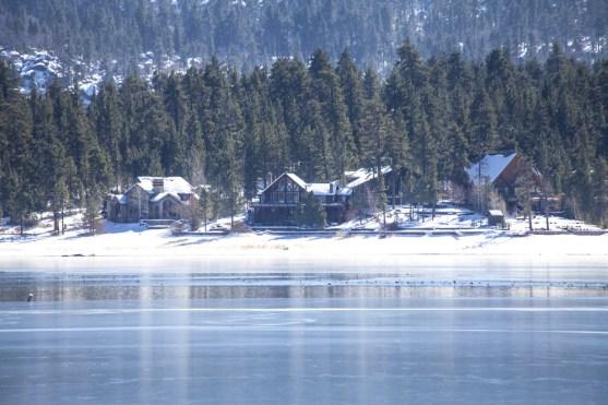 snow play in lake arrowhead