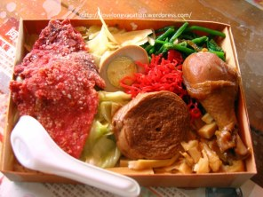 Lunchbox. Taiwanese style. Very sumptuous!