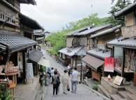 Stairways that leads to Ninen-zaka and Sannen-zaka.