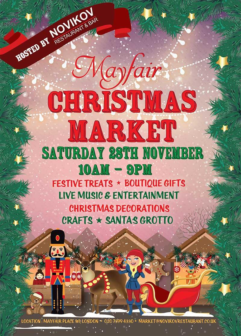 MAYFAIR CHRISTMAS MARKET I Love MarketsI Love Markets