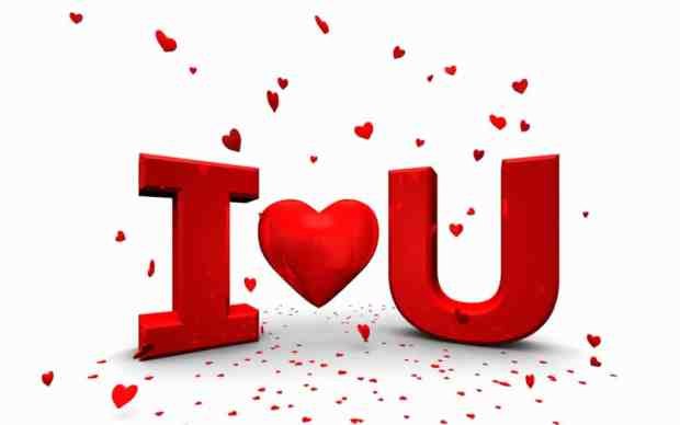 I love you HD colourful images
