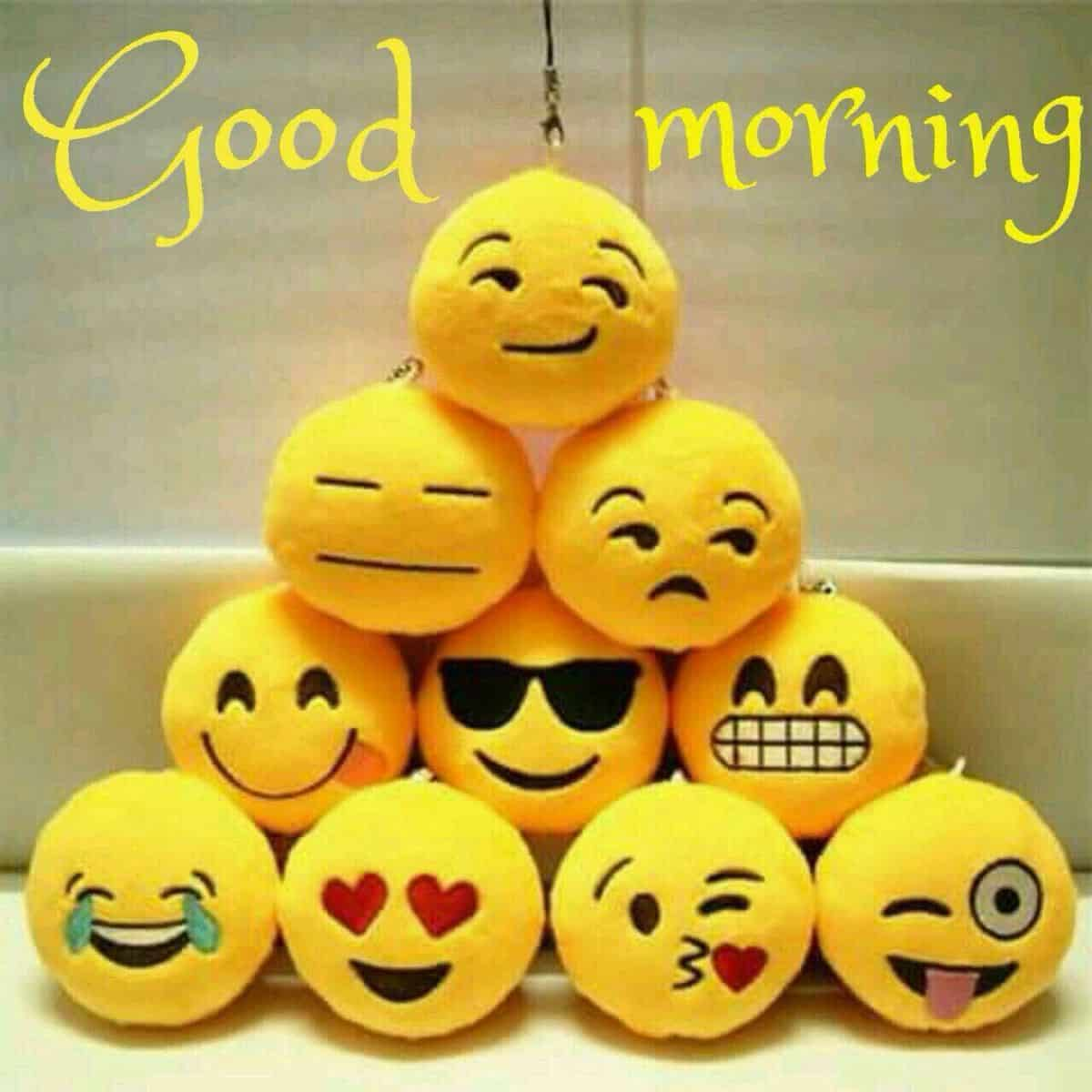Good morning smilies