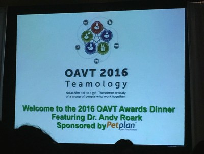 Ontario Association of Veterinary Technicians Conference & Awards 2016