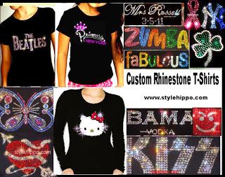 Win a Rhinestone T-shirt from Stylehippo