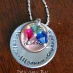 I love you to the Moon Custom Necklace Giveaway, BLS Jewelry