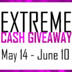 May $400 Cash giveaway, Ends June 10