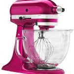 Win KitchenAid Artisan 5-Quart Stand Pink Mixer