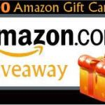 $100 Amazon Gift card Flash Giveaway, Ends June 7