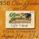 $50 Olive Garden giveaway, ends August 23