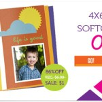 Only $1 for 4×6 Custom Softcover photo Book