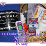 FLU OUTBREAK SURVIVAL KIT Flash Giveaway, Ends 1/15
