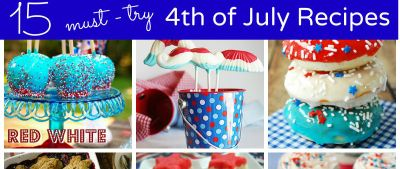 15 Must-try 4th of July Recipes and Decorations