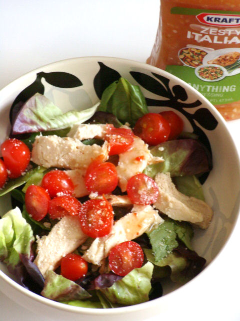 Classic Italian Zesty Chicken Salad
