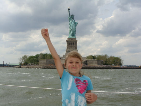 victoria as statue of liberty