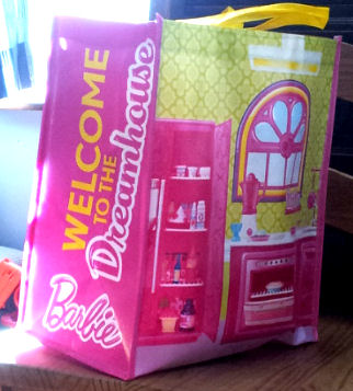 Free Barbie Tote bag