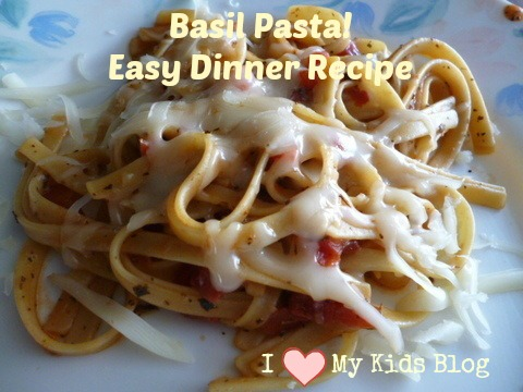 basil pasta easy recipe