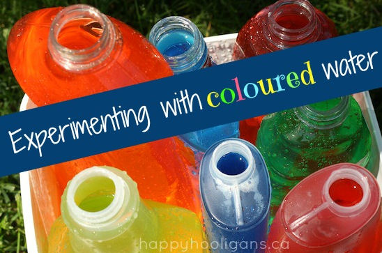 colored water activity