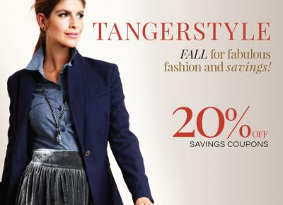 tanger mall 20 off coupon