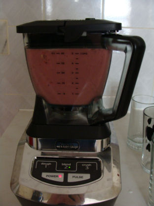 the blender will stop by itself when done