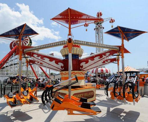coney island glider