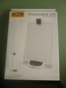fellowes document lift in box