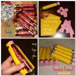 How to make Rolo or Candy Pencils, DIY Back to School gifts and treats