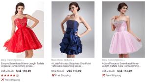 DressFirst short dresses
