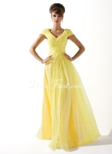 DressFirst yellow light dress