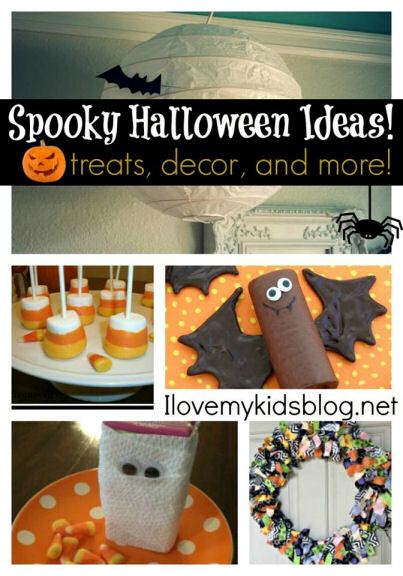 Spooky Halloween Ideas - treats, decor and more