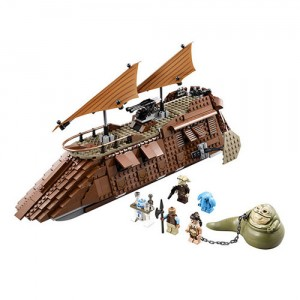 The LEGO Star Wars Jabba's Sail Barge