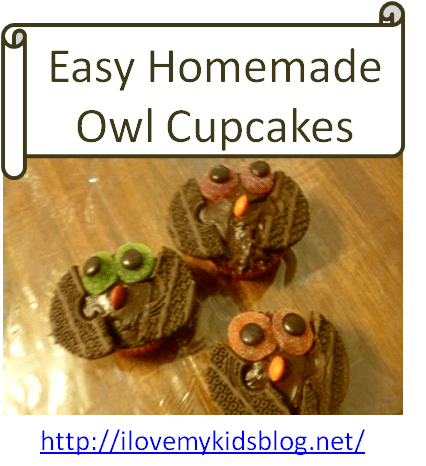 cute and easy owl cupcakes