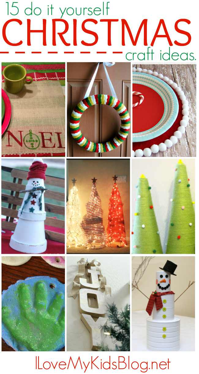 Do It Yourself Home Projects From Ana White: 15 Do It Yourself Christmas Craft Ideas