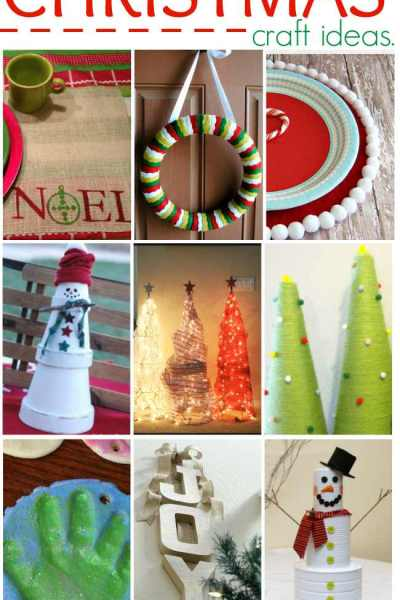 15 Do it Yourself Christmas Craft Ideas