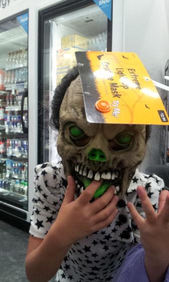 scary masks, halloween, duane reade, #shop