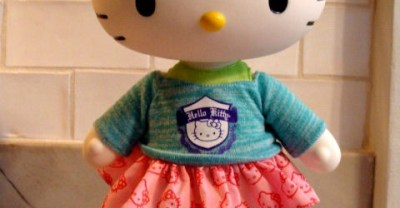 Cute Gift Idea – Poseable Large Hello Kitty Doll (Dancer)