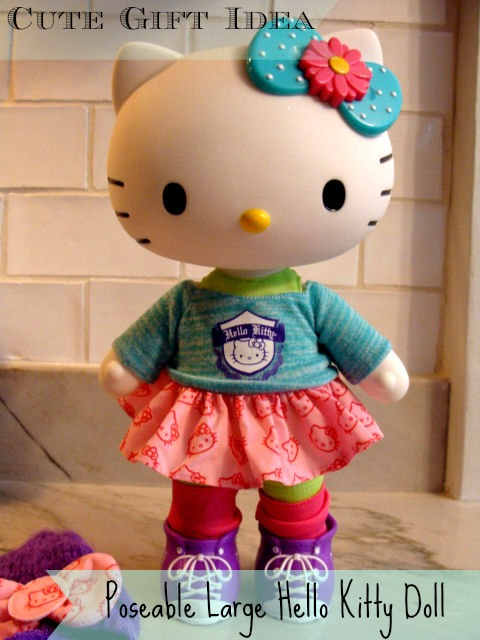 Cute gift idea poseable large hello kitty doll