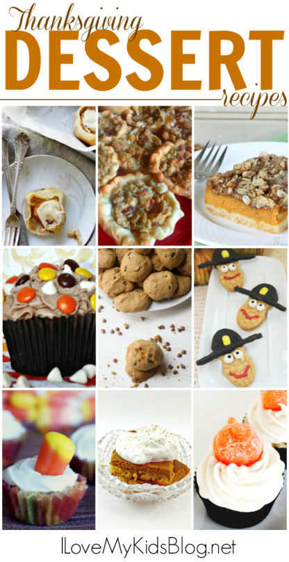 Thanksgiving Dessert Recipes