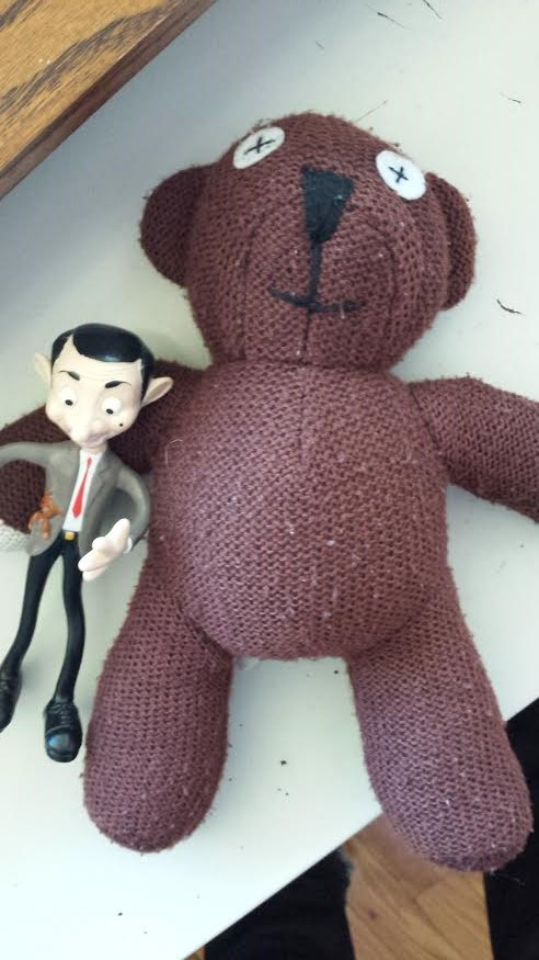 Mr. Bean and Teddy