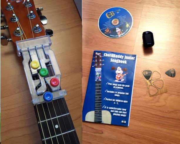 ChordBuddy Jr Guitar Review - I love My Kids Blog