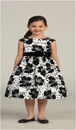 kids formal black and white