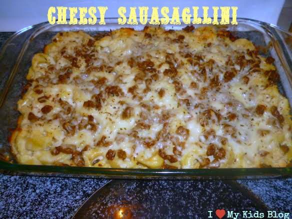 Cheesy Sauasagllini