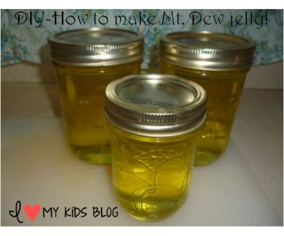 How to make Mt dew jelly  5