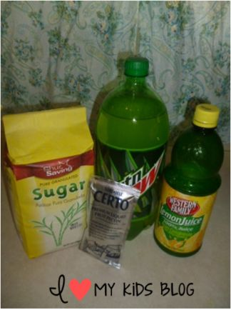 How to make Mt dew jelly  6