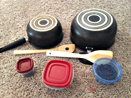 Music with Kitchen Supplies
